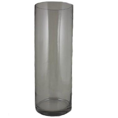Entrada Cylinder Glass Vase; 19.69'' H x 7'' W x 7'' D