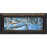 Artistic Reflections A Winter's Night Framed Painting Print