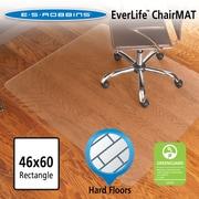 ES Robbins EverLife Hard Floor Straight Edge Chair Mat; 0.11'' H x 60'' W x 46'' D