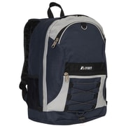Everest Two-Tone Backpack; Navy / Gray