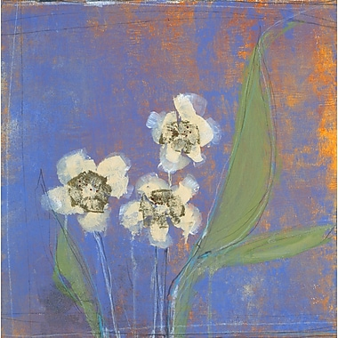 Evive Designs Orchid Study II by Maeve Harris Painting Print