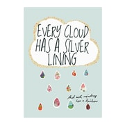 Evive Designs Every Cloud Has a Silver Lining by Felt Mountain Studios Painting Print Art