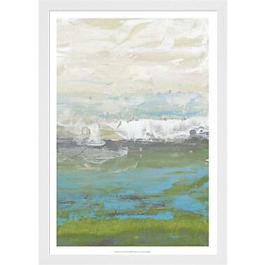 Evive Designs Heather Seas II by Jennifer Goldberger Framed Painting Print