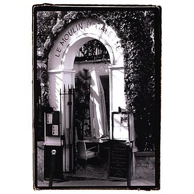 Evive Designs Cafe Charm, Paris III by Laura Denardo Photographic Print