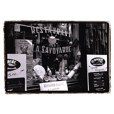 Evive Designs Cafe Charm, Paris VI by Laura Denardo Photographic Print