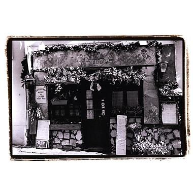Evive Designs Cafe Charm, Paris II by Laura Denardo Photographic Print