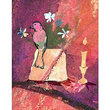 Evive Designs Bohemian Bird by Holly Mcgee Painting Print