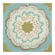 Evive Designs Rustic Tiles IV by Chariklia Zarris Painting Print