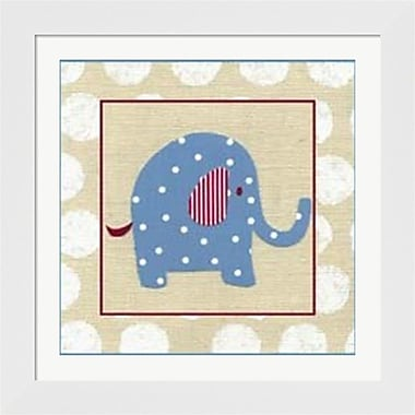 Evive Designs Katherine's Elephant Framed Art