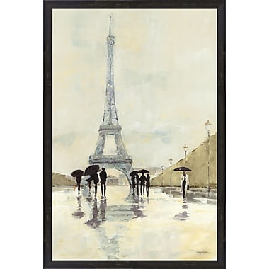 Evive Designs April in Paris by Avery Tillmon Framed Painting Print