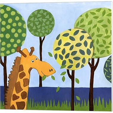 Evive Designs Jungle Fun III Canvas Art