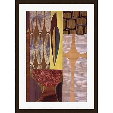 Evive Designs Luau by Rex Ray Framed Graphic Art