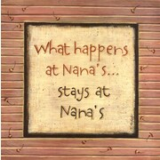 Evive Designs What Happens at Nana's Wall Art (Print Only)