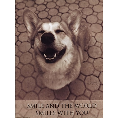 Evive Designs Smile and the World Smiles w/ You by Jim Dratfield Photographic Print