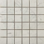 Emser Tile Natural Stone 2'' x 2'' Marble Mosaic Tile in Bianco Gioia