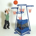 The Children's Factory 4 Ring Basketball Set