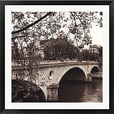 Evive Designs Pont Louis-Philippe, Paris by Alan Blaustein Framed Photographic Print