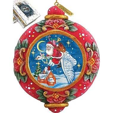 G Debrekht Christmas Goose Ornament
