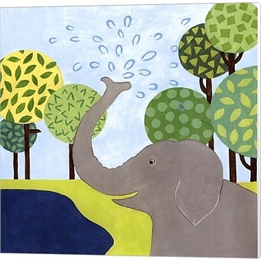 Evive Designs Jungle Fun II Canvas Art