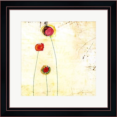 Evive Designs Lollipop II by Open Journey Framed Painting Print