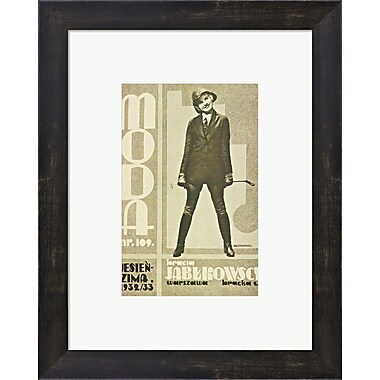 Evive Designs Jablkowscy 1932 Framed Graphic Art