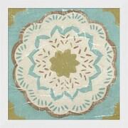 Evive Designs Rustic Tiles IV by Chariklia Zarris Framed Painting Print