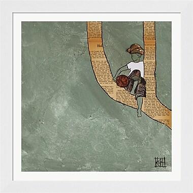 Evive Designs Climbing the Wind Frame Art