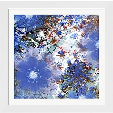 Evive Designs Abstract Pop V by Ricki Mountain Framed Painting Print