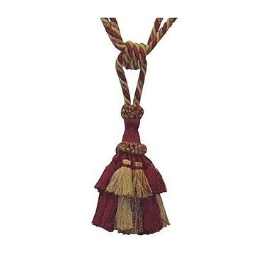 EuropaTex Tassel Curtain Tieback; Treasure