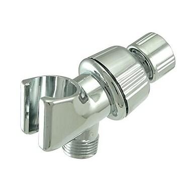 Elements of Design Shower Arm Bracket; Chrome