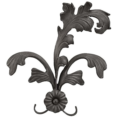 Menagerie Casa Artistica Extended Leaf Curtain Holdback (Set of 2); Black