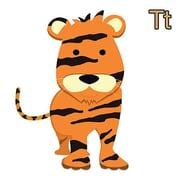 iCanvas Kids Art Tiger Graphic Canvas Wall Art; 26'' H x 26'' W x 0.75'' D