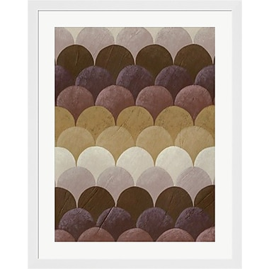 Evive Designs Plum Orchard II by Chariklia Zarris Framed Graphic Art