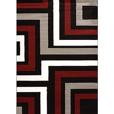 United Weavers of America Cristall Grey Blade Area Rug; 7'10'' x 11'2''