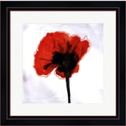Evive Designs Red Drops VI by Open Journey Framed Painting Print