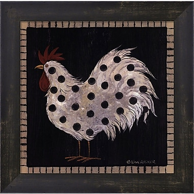 Evive Designs Chicken Pox IV by Lisa Hilliker Framed Painting Print