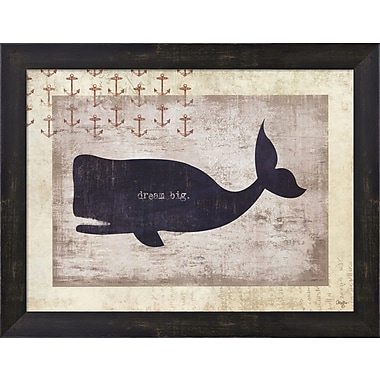 Evive Designs Dream Big Framed Art