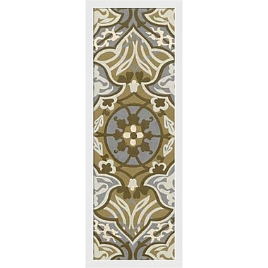 Evive Designs Palladium Tapestry I by Chariklia Zarris Framed Graphic Art