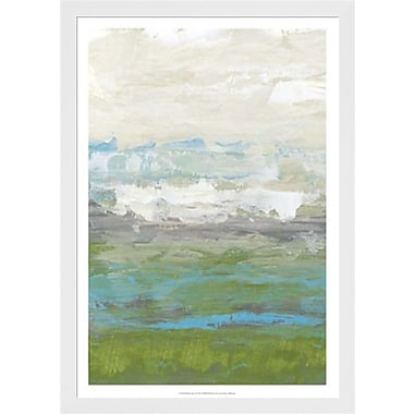 Evive Designs Heather Seas I by Jennifer Goldberger Framed Painting Print