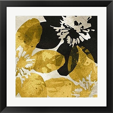 Evive Designs Bloomer Tile X by James Burghardt Framed Painting Print