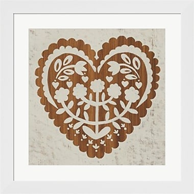 Evive Designs Country Woodcut IV Framed Art