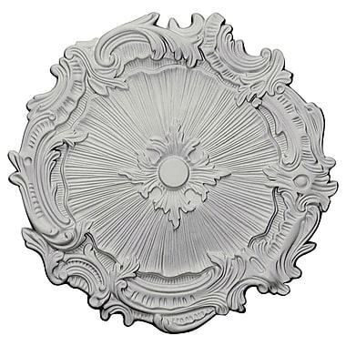 Ekena Millwork Plymouth 16.75''H x 16.75''W x 1.38''D Ceiling Medallion