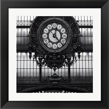 Evive Designs Paris clock I by Alison Jerry Framed Photographic Print