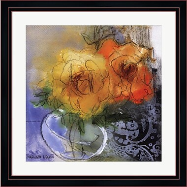 Evive Designs Bouquet II by Marina Louw Framed Painting Print