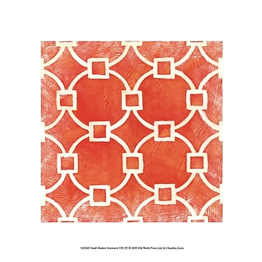 Evive Designs Small Modern Symmetry VIII by Chariklia Zarris Graphic Art