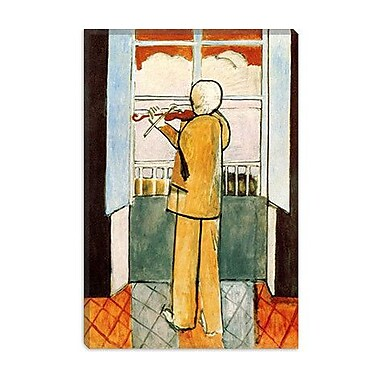iCanvas ''Violinist at the Window'' Canvas Wall Art by Henri Matisse; 60'' H x 40'' W x 1.5'' D