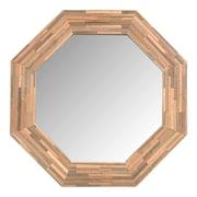Jeffan Rosario Wood Mirror; Large