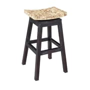 Jeffan Cordova 30'' Swivel Bar Stool; Natural Bliss