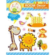 Creative Motion Room Decor Glow in the Dark Animals 3D Wall Decal