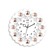 Creative Motion 15.74'' Picture Frame Wall Clock